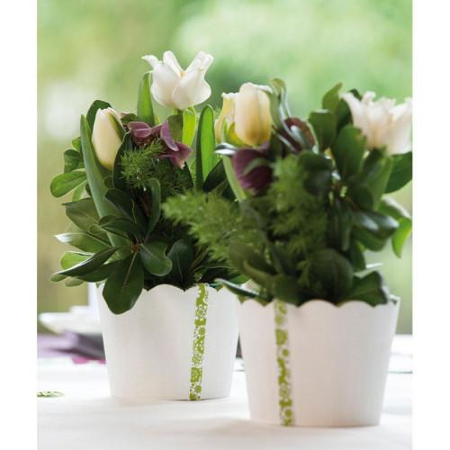 Support à décorer en bois - Vase rond - 11 cm