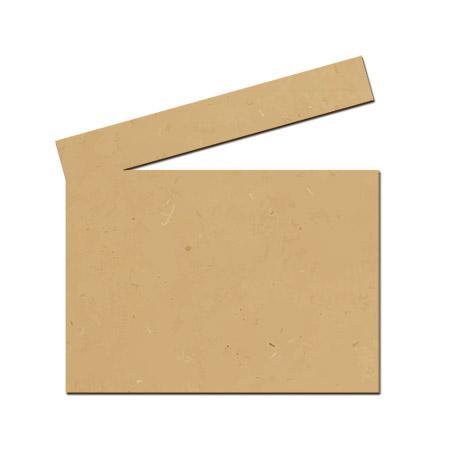 Support à décorer en bois médium - Clap cinéma GM- 20 x 23 cm