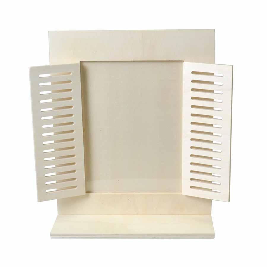 Cadre étagère Fenêtre rectangulaire - 27 x 33 x 9 cm
