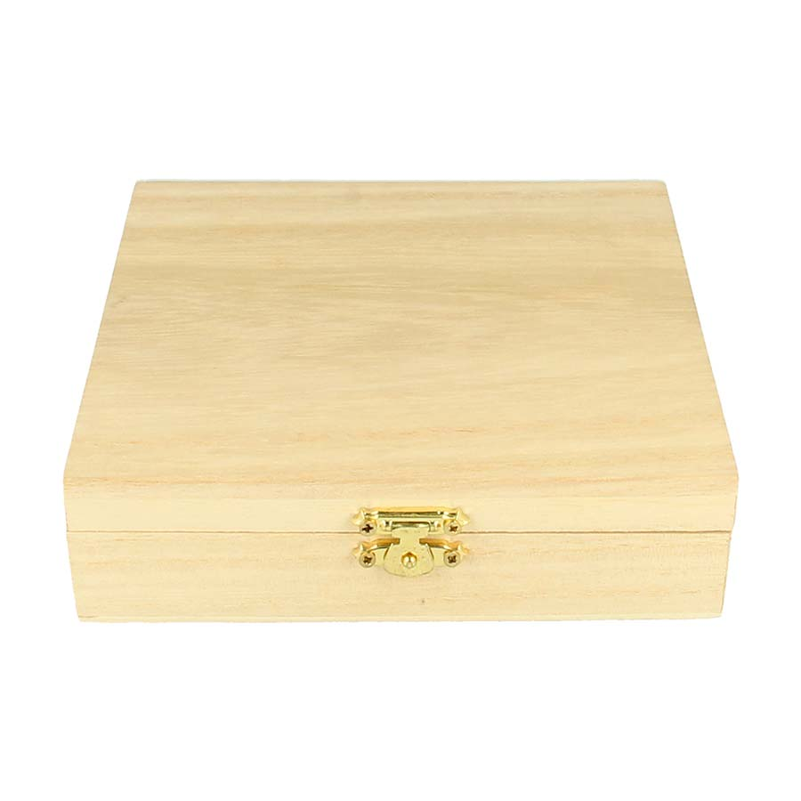 Coffret de Sommelier en bois - 15 x 15 x 3,9 cm