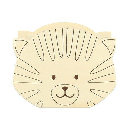 Tirelire Tête de chat Family Friends - 15 x 12 cm