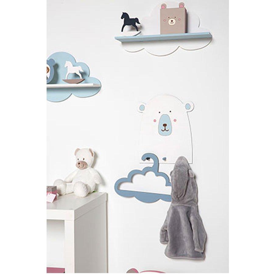 Etagère nuage en bois - Adorable - 39 x 22 x 11 cm