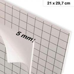 Carton mousse adhésif