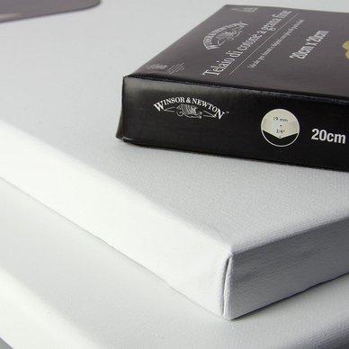 Châssis entoilé coton fin - 20 x 20 cm