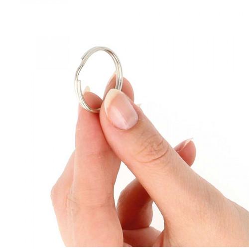 Anneaux porte-clés - 2,5 cm - 22 pcs