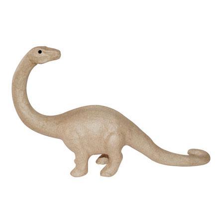 Dinosaure en papier mâché - 60 x 12 x 33 cm