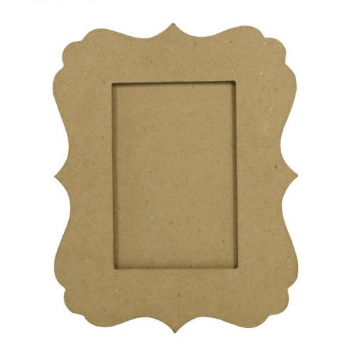 Cadre Feston en papier mâché - 20 x 25 x 1 cm