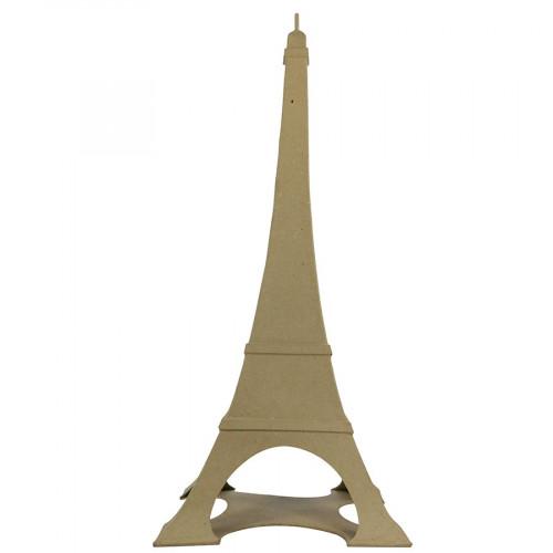 Tour Eiffel en papier mâché - 56 x 24 x 24 cm