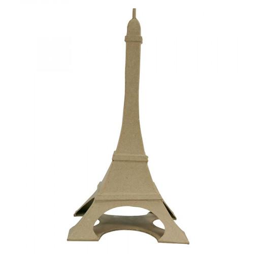 Tour Eiffel en papier mâché - 32 x 17 x 17 cm