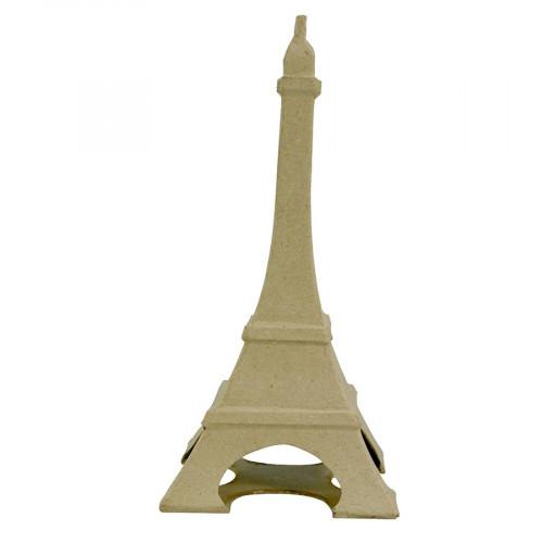 Tour Eiffel en papier mâché - 22 x 11 x 11 cm