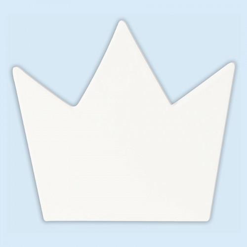Couronne en papier mâché - 11 x 12 x 1,5 cm