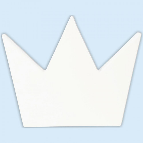 Couronne en papier mâché - 17 x 20,5 x 2,5 cm