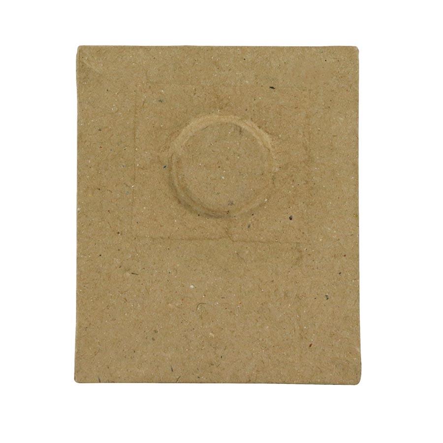 Cadre magnétique en papier mâché  - 7,5 x 9 x 1 cm