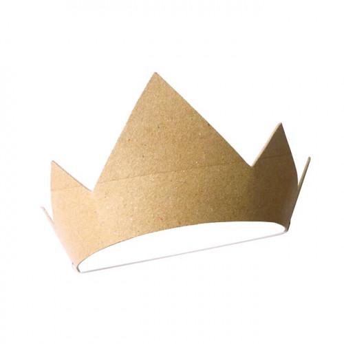 Couronne de prince en carton - 18 x 17,5 x 17