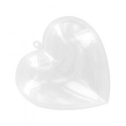 Boules et cœurs transparents