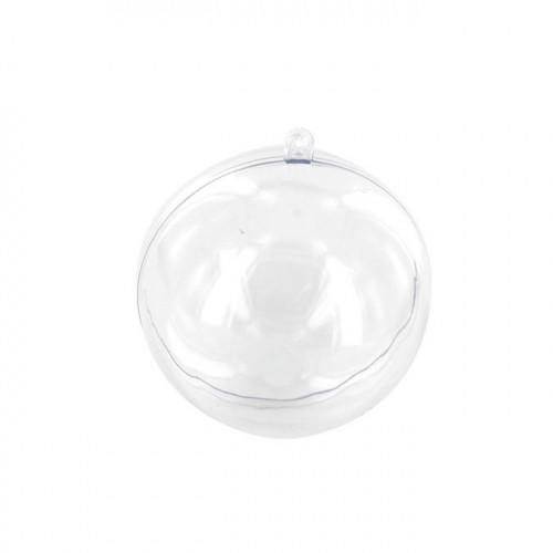 Boule en plastique - séparable - 8 cm