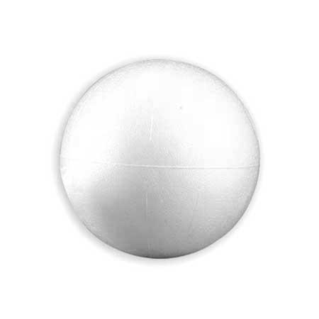 Boule en polystyrène  - Ø 8 cm