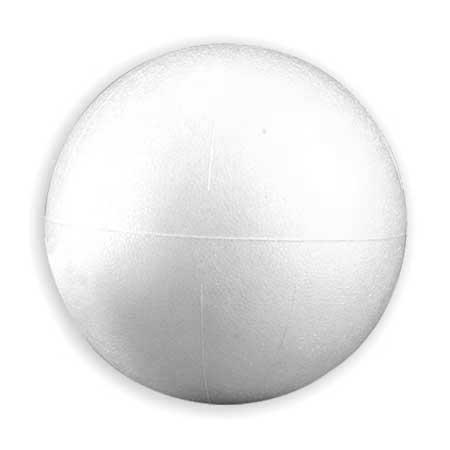 Boule en polystyrène - Ø 12 cm