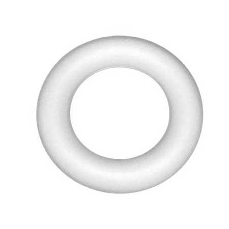 Anneau plein en polystyrène - Ø 17 cm