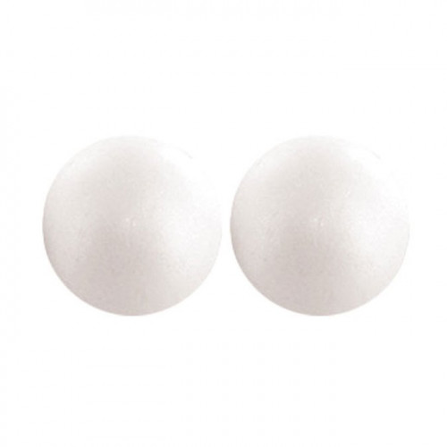 Boules en polystyrène - 7 cm - 4 pcs
