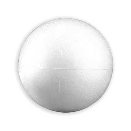 Boule en polystyrène - Ø 10 cm