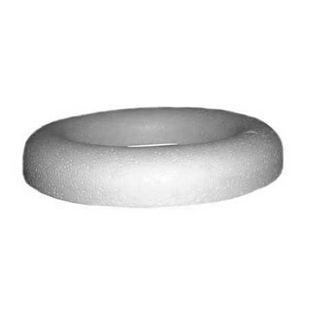 Anneau à dos plat en polystyrène - Ø 25 cm