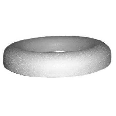 Anneau à dos plat en polystyrène - Ø 35 cm