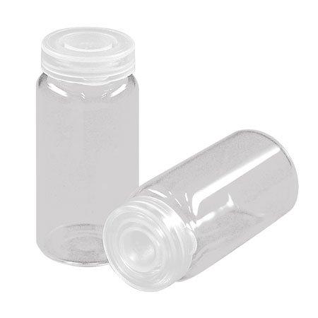 Support à décorer en verre - Flacon à bouchon - 2,2 x 4,8 cm