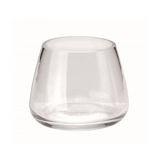 Récipient en verre - Rond - 5 cm x 5,5 cm
