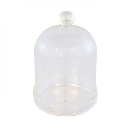 Cloche en verre - 7,5 x 11 cm