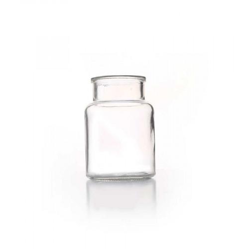 Vase médicinal en verre - Ø 7 cm x 10 cm
