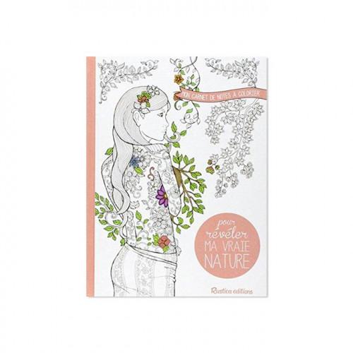 Carnet de note à colorier - Pour révéler ma vraie nature