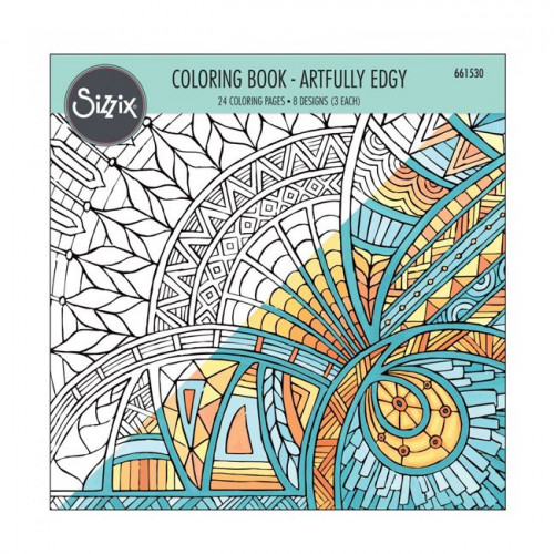 Coloring Book - Artfully Edgy