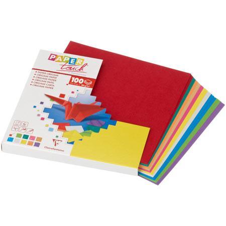 Origami - Pochette de 100 feuilles - 80g - 12 x 12 cm