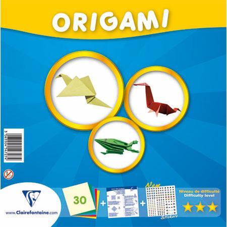 Origami - Kit confirmé - 30 feuilles