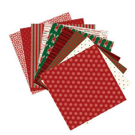 Papiers origami - 15 x 15 cm - Noël