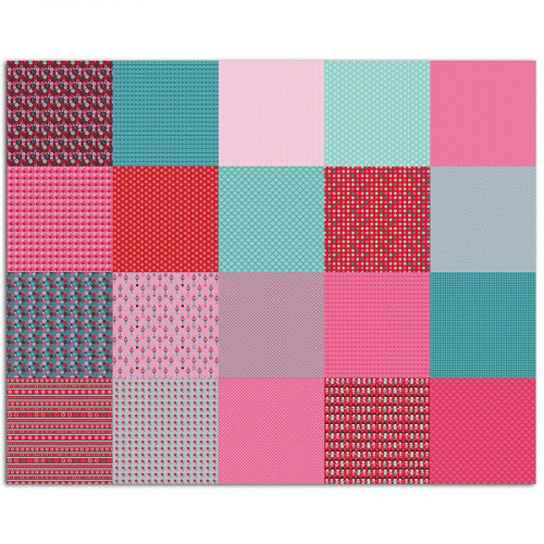 Papiers Origami - Kokeshi - 100 feuilles - 15 x 15 cm