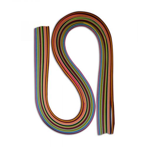 Bandes de papier Quilling - 3 mm x 52 cm - 200 pcs