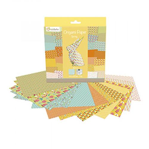 Papier Origami Spring - 20 x 20 cm - 60 feuilles