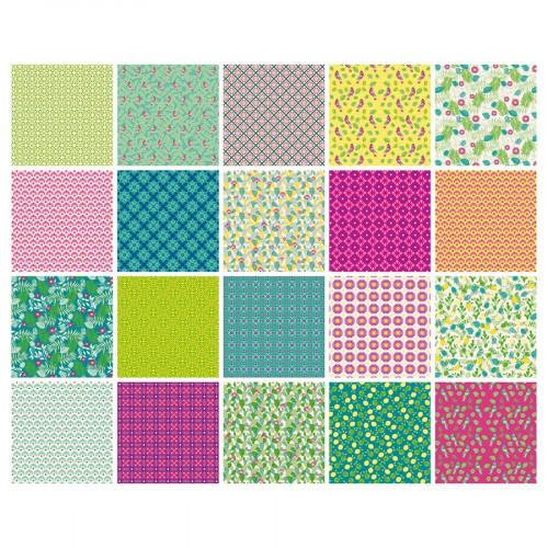 Papier Origami Hacienda - 15 x 15 cm - 100 feuilles