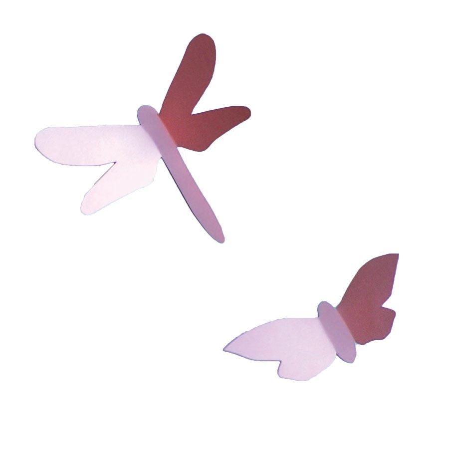 Kit Origami - Déco chambre bébé - Rose
