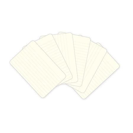 Project Life - Textured Cardstock Journaling Cards - 4 x 6 - Lined - Cream