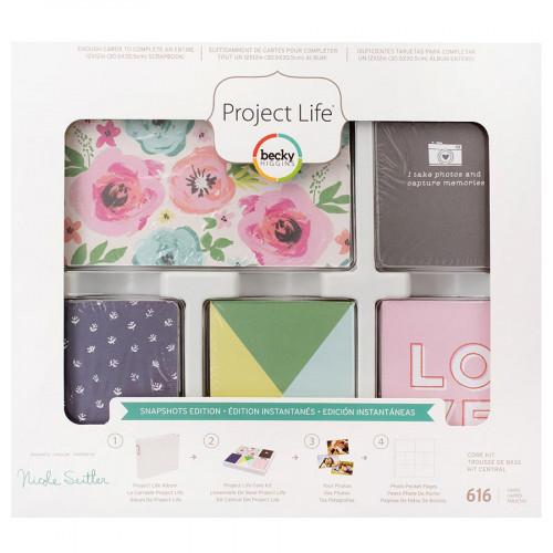 Core Kit Snapshots - 616 cartes pour Project Life
