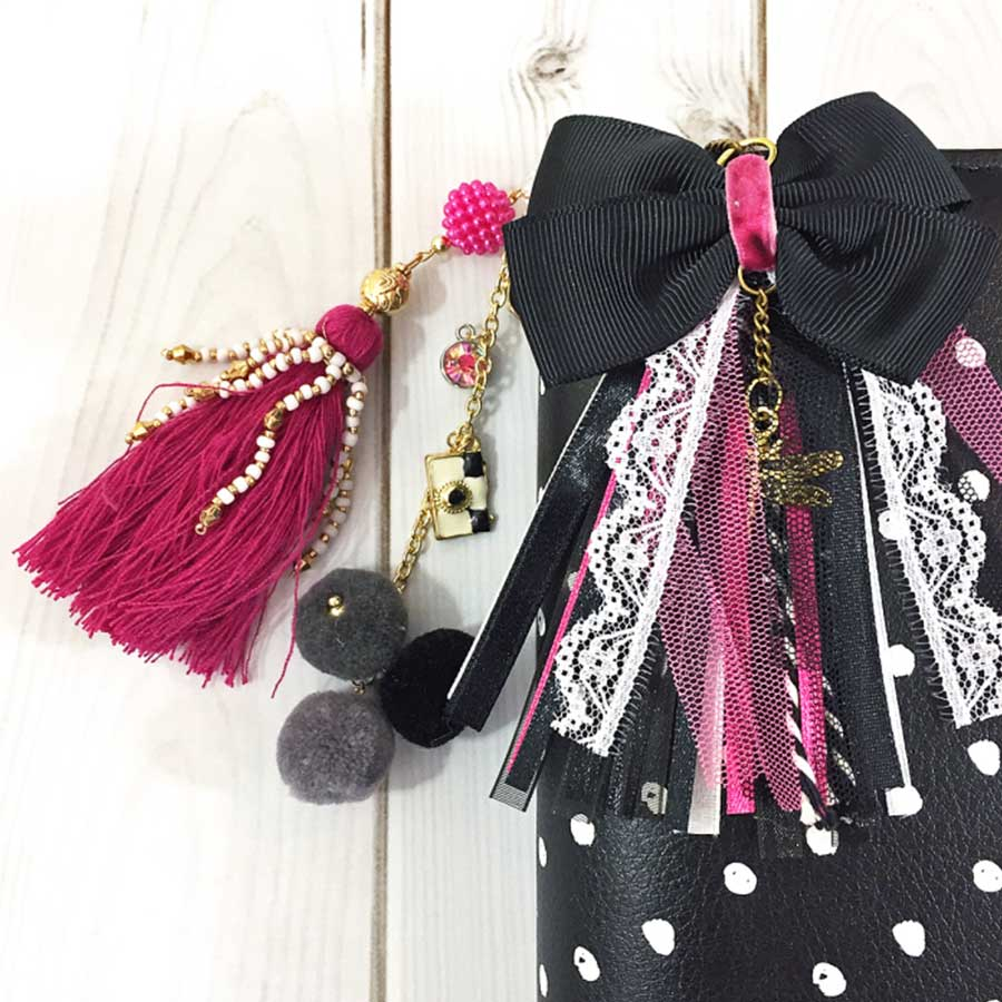 Breloque pour Planner - Pretty In Pink