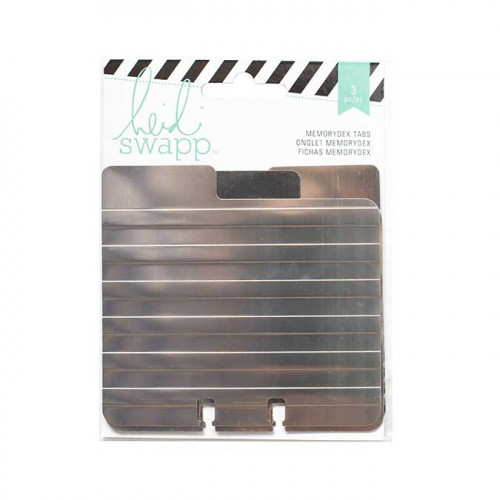 Memorydex - Intercalaires métal - 3 pcs