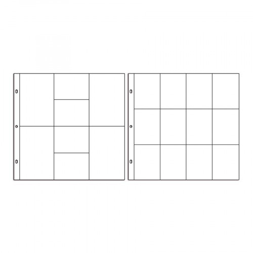 Le Projet de mes Photos - 2 x 5 pochettes transparentes compartimentées n°1