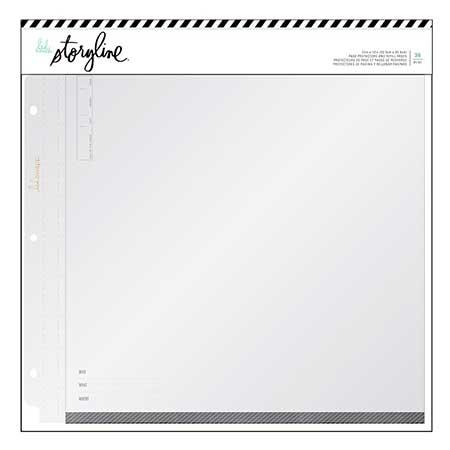 Recharges pour album Storyline 30 x 30 cm - 36 pcs