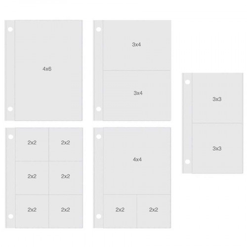 Pochettes verticales pour Album SN@P! 15 x 20 cm