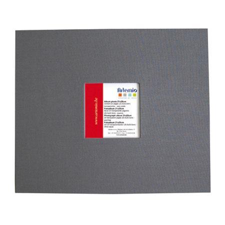 Album à vis - anthracite - 20 x 20 cm
