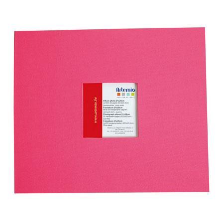 Album à vis - fuchsia - 20 x 20 cm